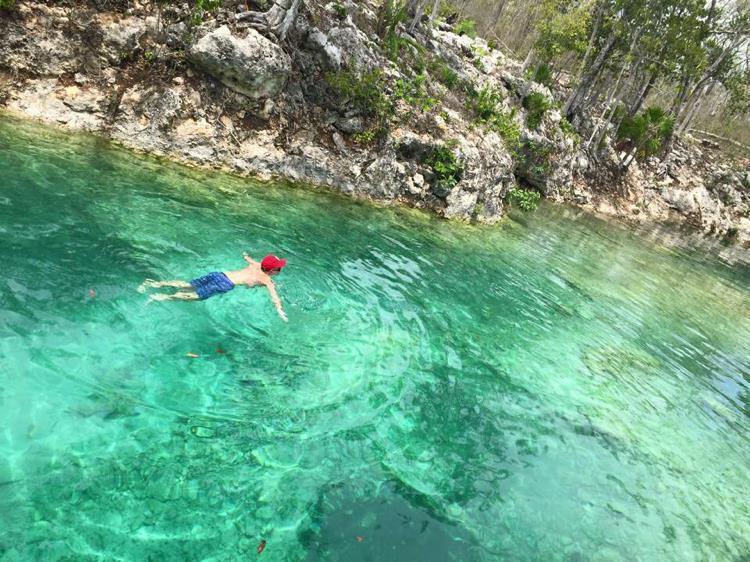 Подземное озеро Мексика