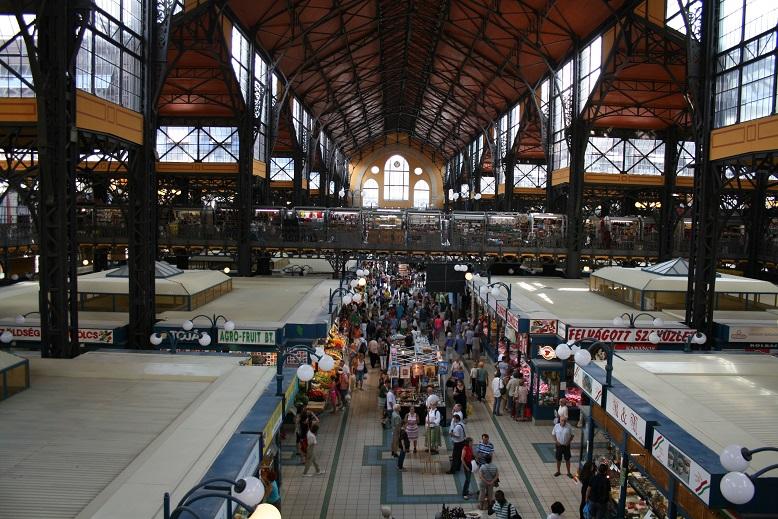 Центральный рынок, Будапешт