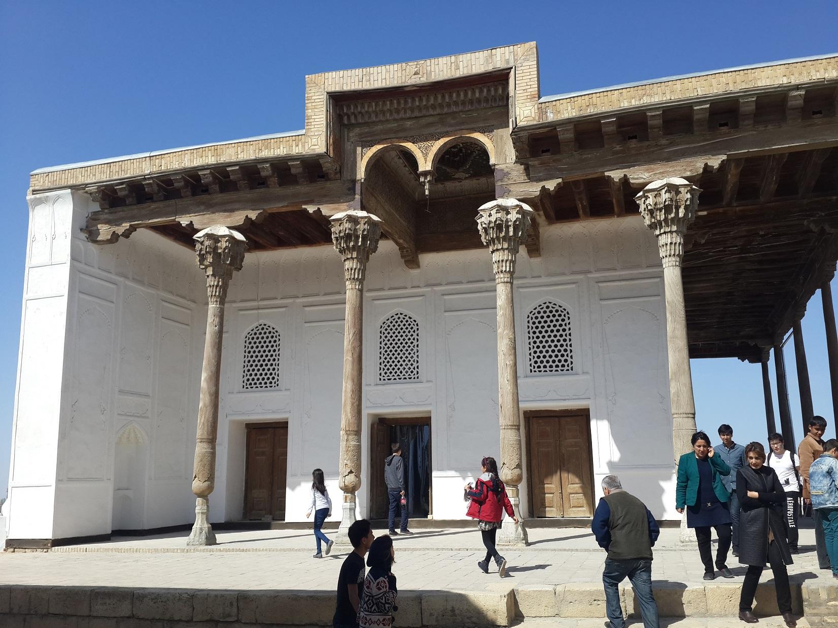Крепость Арк Бухара